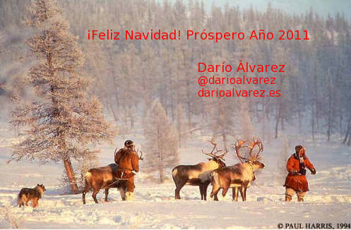 ¡Feliz Navidad! Próspero 2011 - Darío Álvarez @darioalvarez