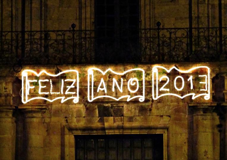 Por la tarde - noche del día de la Cabalgata de Reyes, la oportuna ambientación luminosa (y pasar página)