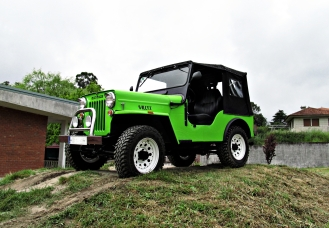 Jeep Ebro - Willys, en FEGACLASIC - Pontecesures, Galicia, junio 2013