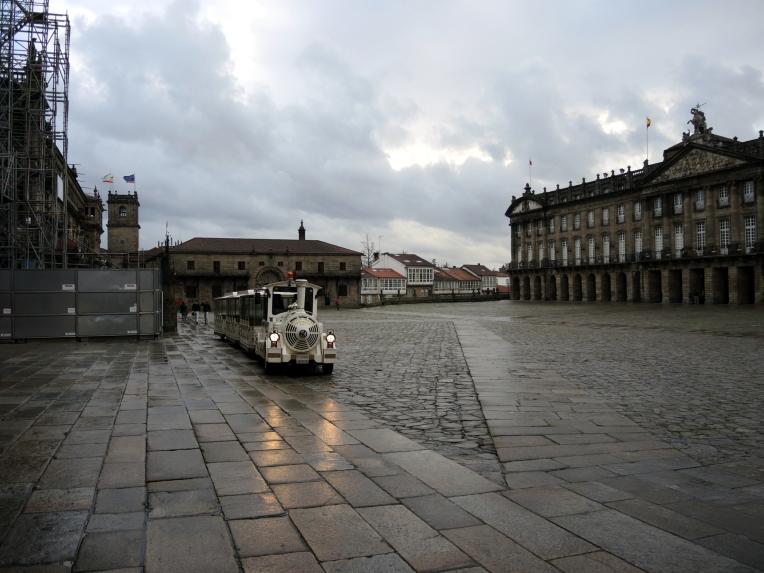 El último domingo del pasado invierno, en Santiago de Compostela